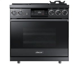 "36"" Pro Dual-Fuel Steam Range, Stainless Steel, Natural Gas/High Altitude"