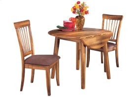 Berringer Round Drop Leaf table and chairs Set 2/CN