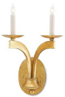 Venus Gold Wall Sconce