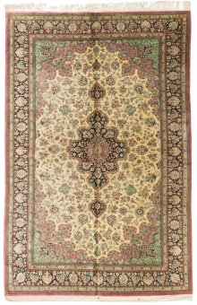 Persian Classics Hand Knotted Large Rectangle Rug