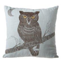 Owl Square Pillow.