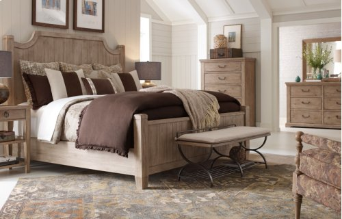 Monteverdi by Rachael Ray Complete Low Post Bed, King 6/6