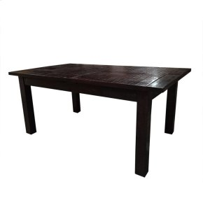 """Tiffany 72"""" Dining Table Chocolate"""
