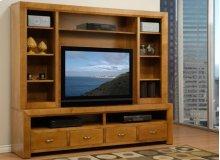 Contempo Entertainment Side Bookcase