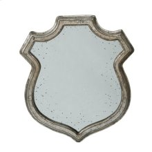 Wide Empire Crest Mirror,Small