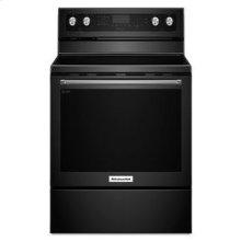 KitchenAid® 30-Inch 5-Element Electric Convection Range - Black