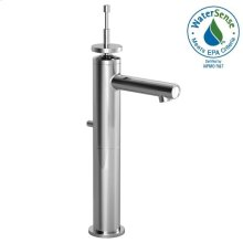 Stoic Single Lever Vessel Faucet - Pixie Handle - Polished Chrome