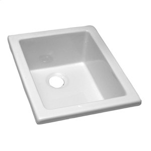 "Utility Sink - 18 1/8"" x 14 3/8"" - White Product Image"