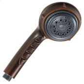 Tumbled Bronze Nourish® 3 Function Hand Held Shower Wand 2.5gpm Max Flow