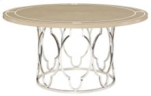 Savoy Place Round Dining Table in Savoy Place Chanterelle with Ivory Accent (371)