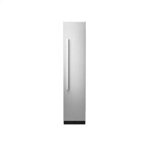 "18"" Built-In Column Freezer with NOIR Panel Kit, Right Swing"