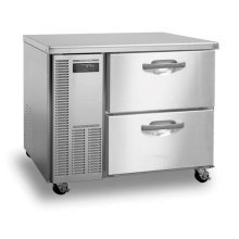 Freezer, Single Section Worktop with Drawers