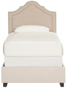 Theron Bed - Light Beige
