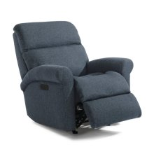 Davis Fabric Power Recliner with Power Headrest