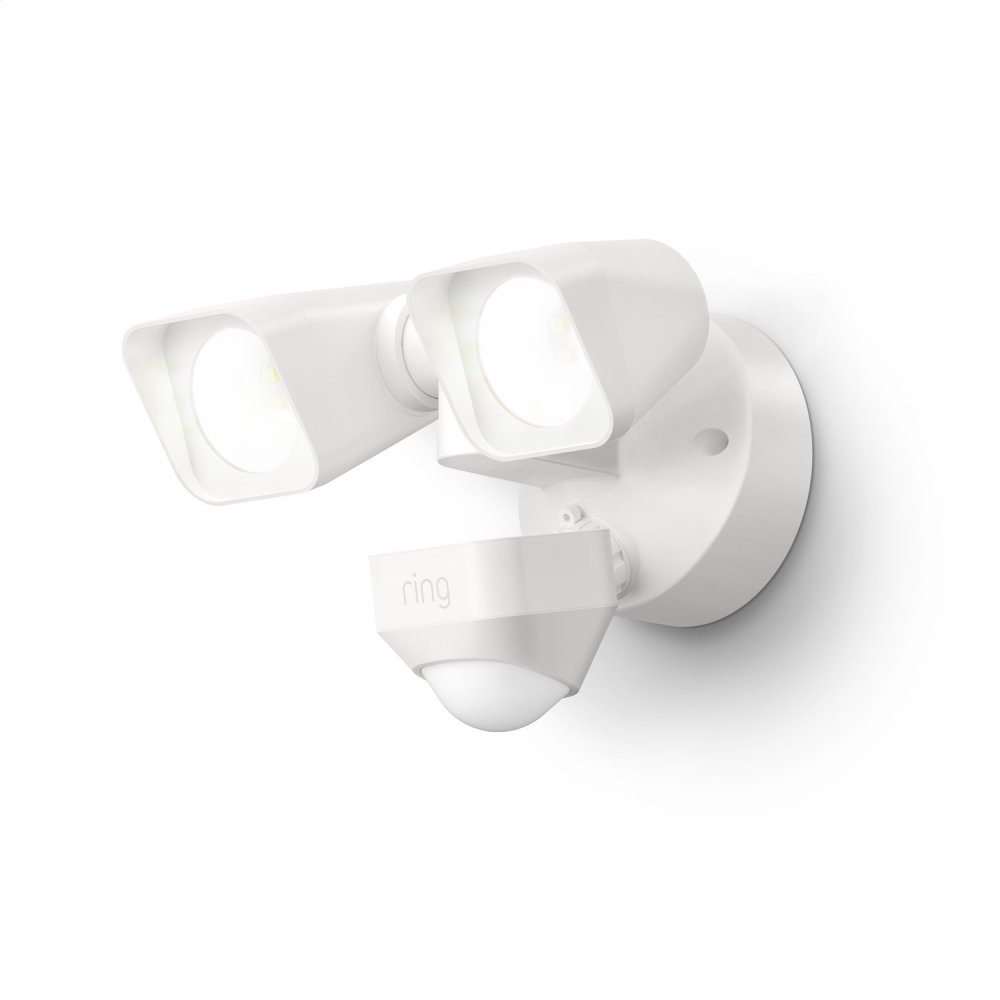 Smart Lighting Floodlight Wired - White: Ships 3/6  WHITE