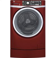 GE® ENERGY STAR® 4.9 DOE cu. ft. capacity RightHeight™ Design Front Load washer with steam Product Image