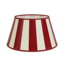 Shade round 25-18-14 cm KING red