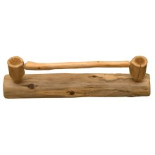 Towel Bar - 24-inch - Natural Cedar