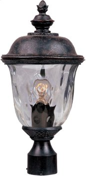 Carriage House DC 1-LT Outdoor Pole/Post Lantern