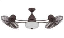 "48"" Ceiling Fan with Blades and Light Kit"