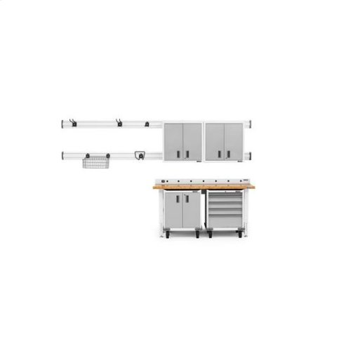 """Gladiator® Premier Pre-Assembled 30"""" Wall GearBox - White"""