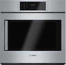 "Benchmark Series, 30"", Single Wall Oven, SS, EU Conv., TFT Touch Control, Right Swing"