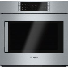 """Benchmark Series, 30"""", Single Wall Oven, SS, EU Conv., TFT Touch Control, Right Swing"""