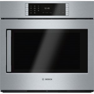 "BoschBENCHMARK SERIESBenchmark Series, 30"", Single Wall Oven, SS, EU Conv., TFT Touch Control, Right Swing"