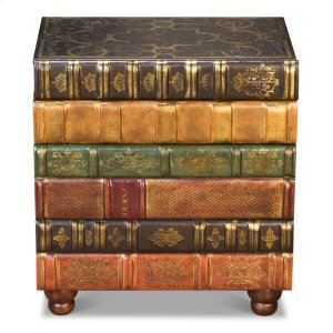 Sarreid LtdFlorentine Books Chairside Chest
