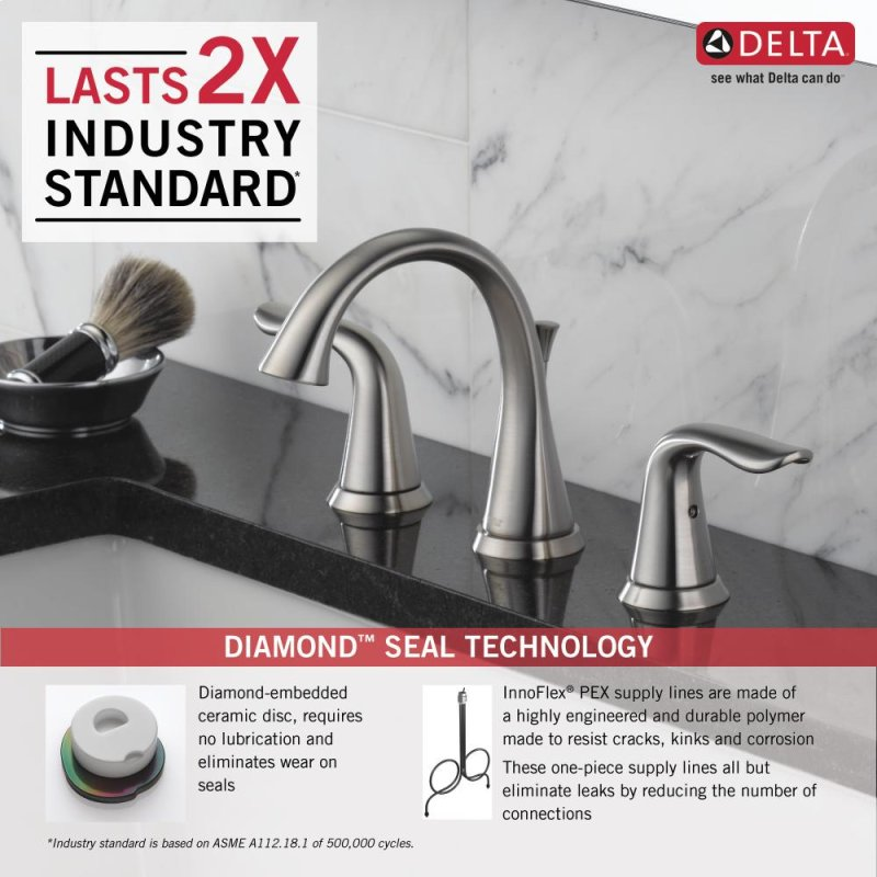 3538SSMPUDST in Stainless by Delta Faucet Company in Atlanta, GA ...