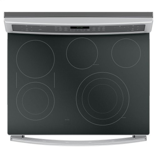 "GE Profile™ 30"" Free-Standing Electric Double Oven Convection Range"