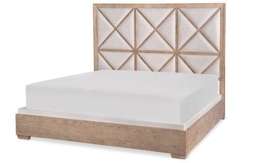 Bridgewater Upholstered Bed, King 6/6