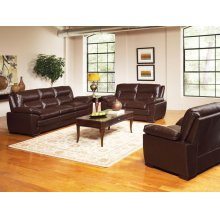 Elio Loveseat, Dark Brown