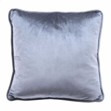 Velvet Pillow Gray