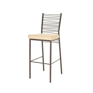 Crescent Non Swivel Stool (cushion)
