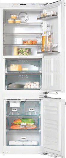 KFNS 37692 iDE-1 PerfectCool fridge-freezer For that special look in the kitchen thanks to Perfect fresh Pro and FlexiLight.