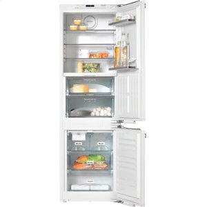 MieleKFNS 37692 iDE-1 PerfectCool fridge-freezer For that special look in the kitchen thanks to Perfect fresh Pro and FlexiLight.