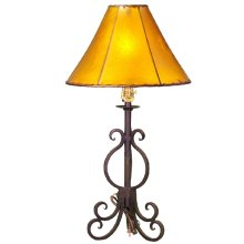 Forged Iron Table Lamp 012 (without shade)