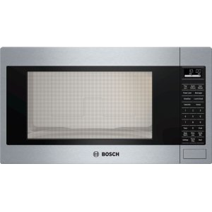 BOSCH500 Series, 2.1 Cu Ft Built-in Microwave, SS