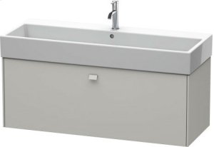 Vanity Unit Wall-mounted, Concrete Gray Matt Decor Product Image