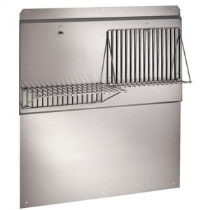 "Best42"" Stainless Steel Backsplash"