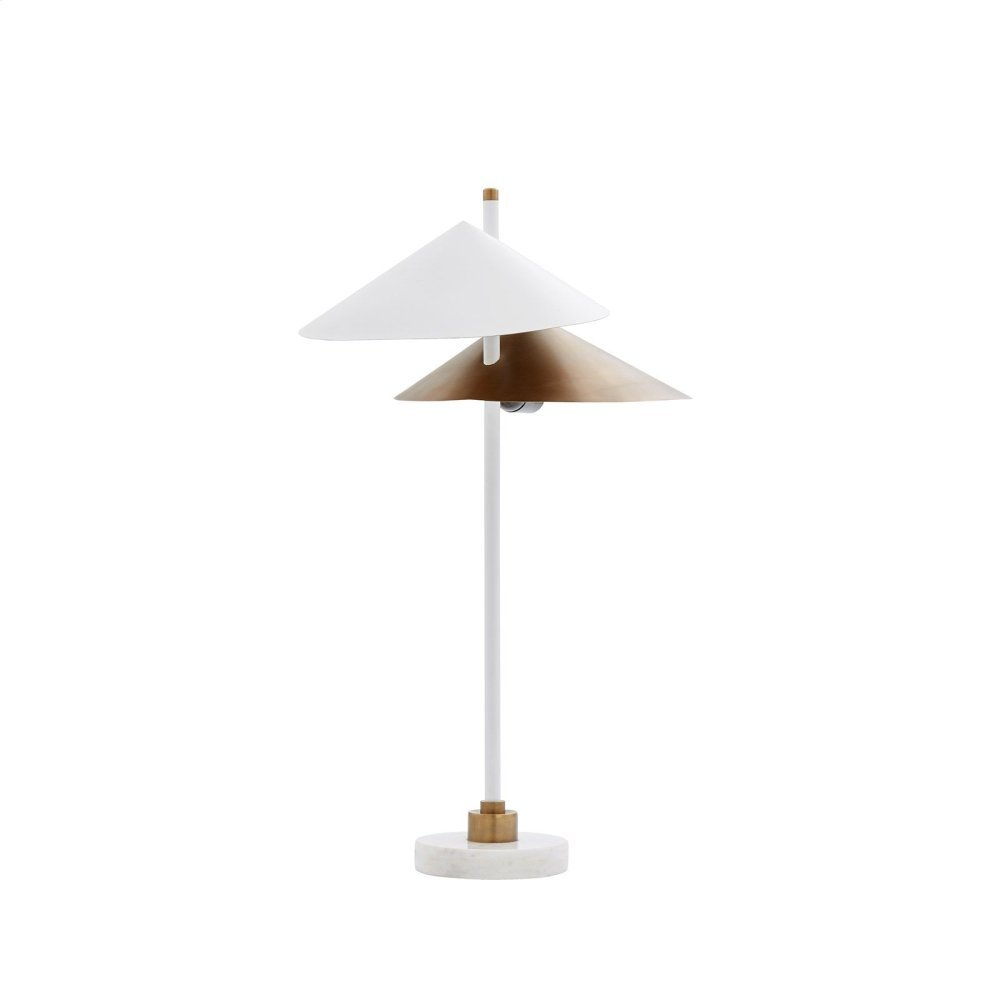 California Table Lamp, White