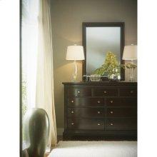 Transitional-Dresser in Polished Sable
