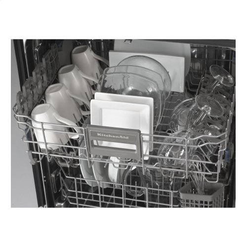 KitchenAid® 24-Inch 5-Cycle/6-Option Dishwasher, Architect® Series II - Black- IN STORE ONLY (FLOOR MODEL)