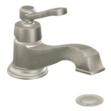 Rothbury brushed nickel one-handle bathroom faucet