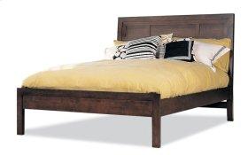 King Panel Bed W/Low Panel Ftbd Matt Only