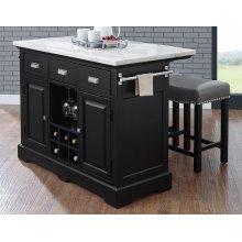 "Aspen Counter Kitchen TableBase 46.75"" x 19.25"" x 33.5"""