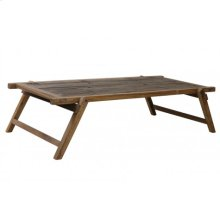 Coffee table 180x85x40 cm MILITARY wood brown