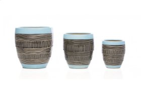 Lokni Cachepot - Set of 3