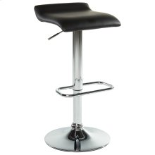 Fabia II Air Lift Stool, set of 2, in Black